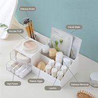 Storage Boxes & Bins Drawer Makeup Organizer Desktop Finishing Accessories Jewelry Cosmetic Box