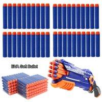 10pcs / Set Recharger des balles 7,2 cm Soft Mega Mousse Sniper Sniper Pistolets Souders pour Elite Series Blasters Cible Accessoires de jouets 0169