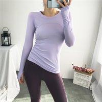 Yoga T-shirt kadın Uzun Kollu Spor Profesyonel Fitness Takımı Tayt Slim Fit Nefes Yüksek Elastik Eğitim Koşu