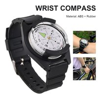 Outdoor Gadgets Wrist Compass Mini Adventure Watchband Mount Diving Waterproof Camping Fishing Hunting Accessories Tools