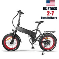 Mens Folding Bike 48V 750W Bafang Motor with 17.5Ah Lithium Hidden Battery Mountain Fat Bicycle 20 Inch Snow E-Bike