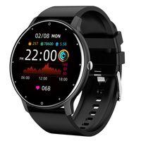 ZL02 Smart Watch Men Full Touch Screen Sport Fitness Часы IP67 Водонепроницаемый Bluetooth для Android IOS SmartWatch Men + Box