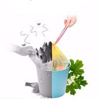أكياس القمامة يمكن التخلص منها البلاستيك الرباط القمامة حقيبة التلقائي إغلاق المنزل فندق المطبخ تخزين حقائب اليد ody6249