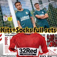 2021 2022 Männer Kinder Kits + Socken Full Sets Middlesbrough Soccer Jerseys 21/22 Ashley Michael Fletcher Jersey 11 Flint 24 Wing 26 Assommalonga Football Hemden Thai