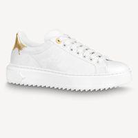 Time Out Sneakers النساء الأحذية الفاخرة جلد طبيعي أزياء العلامة التجارية عارضة حذاء للمرأة حجم 35-40 نموذج HY31