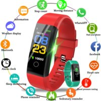 2021 Factory wholesale price 115 Plus Smart Wristbands Watch Bluetooth Bracelet Fitness Tracker Smartwatch for Android IOS