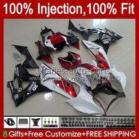 Injection Mold Fairings For BMW S-1000RR S 1000RR 1000 RR S1000-RR 09-14 19No.22 S1000RR 09 10 11 12 13 14 Red white S1000 RR 2009 2010 2011 2012 2013 2014 OEM Bodys Kit