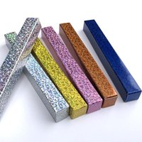 Colorful DIY Eyeliner Packing Box Laser Long Strip Retail Accessory Box Gift Cardboard Boxes Factory Wholesale NHD6586