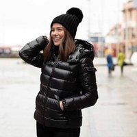 2021 Abrigo de la chaqueta de la chaqueta de la chaqueta de la luz de la luz de la luz Mujeres Invierno Abrigos a prueba de frío engrosados CALIENTE CALIENTE COMPLETO CALIDAD NUEVO Patrón Patrón Ganso Downs Chaquetas de gran tamaño