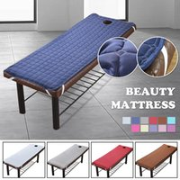 Sheets & Sets Soft Polyester Massage Table Bed Sheet Elastic SPA Treatment Cover Relaxation Beauty Salon Mattress With Face Hole Couch