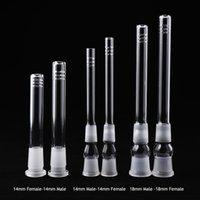 Accessori per fumatori Diffusore del downlood di vetro / riduttore 14.4mm 18.8mm Giunto femminile maschio per le bong dell'acqua