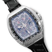 Nuovi orologi automatici di movimento orologi in metallo speciale botte design in acciaio luxusuhr multifunzione scheletro quadrante uomo orologio gomma nautico orologio di lusso
