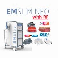 Vertical high intensity focused electromagnetic em sculpt rf slimming equipment