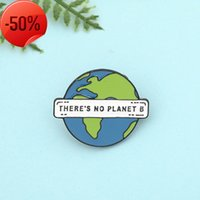 Fashion Love Earth Series Brooches That Here Home Us Personality Girls Boys Bag Coat Badge Pin Decoration