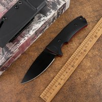 High hardness and sharp kitchen fruit non-folding knife fixed VG10 blade G10 handle outdoor hunting tactical self-defense tool