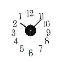Старинный DIY Механизм Большие Настенные Часы Домашняя Гостиная Украшения Искусства Дизайн 1959 V2