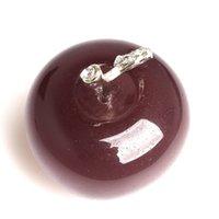 Crystalgemstone Apple ornamenti decorazione artigianale artigianale avg.1.77inches