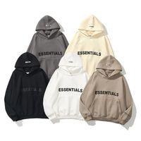 2021 Sıcak Essentials Kapşonlu Hoodies Erkek Bayan Moda Streetwear Kazak Tişörtü Gevşek Kapüşonlular Severler Giyim Tops