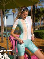 Racing Sets 2021 Weibliche Sommer Kurzarm Lätzchen Shorts Anzug Radfahren Jerser ROPA Cilismo Mujer MTB Rennrad Fahrrad Kiloting Kit