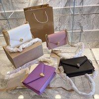 Designer Bgas 2021 New Women's Leather Single Shoulder Messenger Chain Bag Star Same Fashion