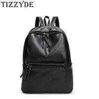 Backpack Simple Style Black For Men And Women 2021 Outer Bag Zipper PU Shoulder Designer High Quality School Bags LQL266