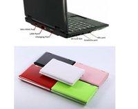 2 قطع المحمولة جيب البسيطة المحمول مايكرو الكمبيوتر دفتر الكمبيوتر 7 بوصة شاشة حجم 8 جيجابايت القرص الصلب الوصول السريع عبر الإنترنت
