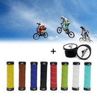 Bike Handlebars &Components 1 Pair Diameter 22MM Bicycle Double Lock-On Handlebar Grips Mountain MTB Electric Scooter Folding