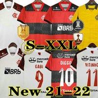21 22 Flamengo Jersey 2021 2022 플랑드르 게레로 디에고 Vinicius JR 축구 유니폼 Gabi Flamengo Gabriel B 스포츠 축구 남자 여자 셔츠