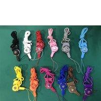Ayrılabilir Cep Telefonu Kayışı Boyun Parti Favor Örgülü Naylon Cep Telefonu Rozeti Kamera Için Asmak Halat MP3 USB KIMLIK Kartları Karışık Renk 928 B3