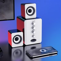 Bluetooth Combination Speakers USB Wired Laptop Desktop Computer Speaker Bass Stereo Music Player Subwoofer Sound Box for PC Smart Phones