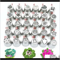 Bakeware Kitchen, Dining Bar Home & Garden30Piece Set Icing Set Christmas Pattern Piping Tips Cake Decorating Supplies Russian Nozzles Pastry