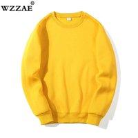 Solid Sweatshirts Spring Autumn Fashion Hoodies Male Large Size Warm Fleece Coat Men Brand Hip Hop