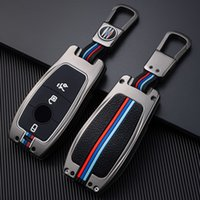 Цинк сплав автомобиля удаленный ключевой корпус для Mercedes Benz E Class W213 E200 E260 E300 E320 защитная крышка ключа FOB держатель