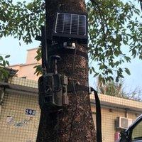 Caméras de chasse Panneau solaire 3000MAH 3W pour 3G Caméra PO PO PO PO PHASS Wildcamera Chargeur de puissance externe avec polymère de batterie en aluminium