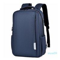 Shoulder bag men and women backpack large capacity bag business casual computer backpack schoolbag theft charge