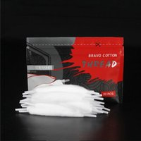 Coil Father Vape Cotton Thread Lace cotton for RDA RTA RBA atomizer Coils Wire Electronic Cigarette Organic Cottons Bacon 2.5 3.0 3.5 4.0mm
