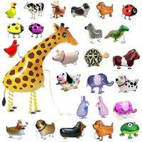 Yürüyüş Balon Evcil Hayvan Balonları Hibrid Modelleri Alüminyum Folyo Balon Hayvanlar, Yürüyüş Hayvanlar Pet Balonlar Çocuk Oyuncakları