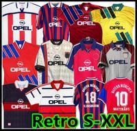 91 92 93 93 93 Retro Soccer Jersey 00 01 02 94 95 96 97 98 99 Santa Cruz Daei Papin Elber Zickle Lizarazu Effenberg Pizarro Scholl Matthaus Klinsmann Shirts Maradona