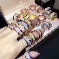 Original Design diamond ring Fashion Luxury Jewelry Women's Men's Rings Couple Gift Wedding Party Accessories