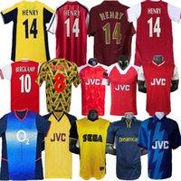 Highbury Home Arsenal Futbol Gömlekseysey Soccerpires Henry Reyes 02 03 Retro Jersey 05 06 98 99 Bergkamp 94 95 Adams Persie 96 97 Galla 86 87 89
