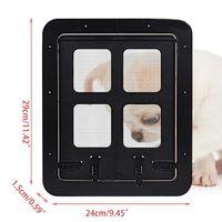 Finestra quadrata Schermo per animali domestici Accesso per cani per cani controllabile G6DA G6DA Vettori G6DA, Casse Casse