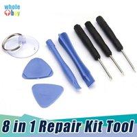 DIY-Handy-Reparaturwerkzeug 8 in 1 Reparatur-Pry-Kit Öffnungsbatterie Ersetzen Sie Werkzeuge Pententalost Torx-Schraubendreher für Moblie-Telefon