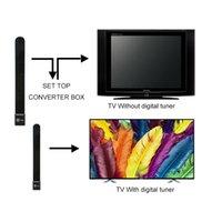 3 أنواع إشارة تلفزيون داخلي الداعم مصغرة HD الهوائي الرقمي عالية مكاسب تلفزيون مكبر للصوت استقبال f ذكر 174 ~ 240 ميجا هرتز 470 ~ 862M HDTV Antenas