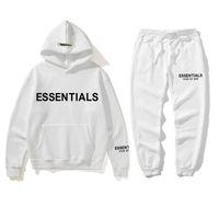 21SS High Street Tide Brief Trainingsanzüge Designeranzug mit Logo auf der Brustpaar mit Kapuze Pullover Pullover Pants Plus Size S-XXXL