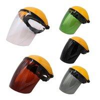 Motorradhelme Hochtemperaturbeständige Schweißschutzmaske, Kopfschild, Splash Proof Kopf-montierter Gesichtsschild Vollmaske