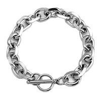 Link, Chain Mcllroy Stainless Steel Cuban Link Bracelets For Women Mens 2021Hip Hop Punk Rock Men Jewelry Pulsera Hombre