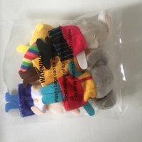 Animales de peluche Puppets de peluche dedo Dedo Doctaños Toys Toys Pequeño Regalo Muñeca Detalle Historia Props Mini Suave