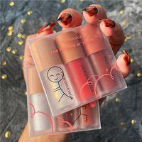 3 ШТ. / Установить наборы глянцевых наборов для губ глазурь и бесцветный прозрачный кремовый жидкий помада блестящий сексуальный красный