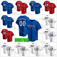 Texas Jersey Rangers 12 Rougged Odor Joey Gallo 20 Mike Foltynewicz 33 Dane Dunning 44 Kyle Gibson 52 Taylor Hearn 31 Ian Kennedy Hombres