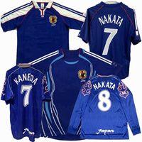 1998 1999 2000 2001 2006 Japão Retro Futebol Jerseys Nanami Nakayama Ono Nakata Nakamura Ogasawara Nakazawa Endo Clássico Vintage Futebol Esportes Camisas